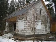 Дачный дом из газобетона Советский 2007г