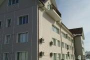 Восстановленное здание. Утепление фасада, крыши, звукоизоляция перегородок.  Павлово-на-Неве